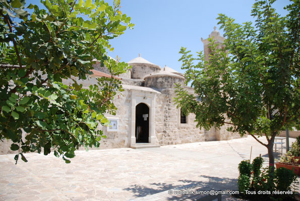 [NU900-2012-0041] Yeroskipou - Agia Paraskevi : Façade Sud (entrée principale)