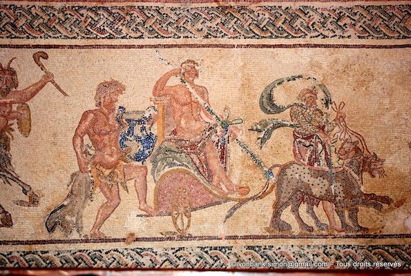 [NU900-2012-052] Paphos (Nea Paphos) : Villa de Dionysos - Triomphe de Dionysos (partie centrale) [4]