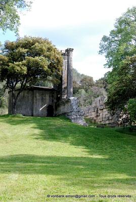 [NU001b-2018-0003] Vernègues (Alvernicum) : Chapelle Saint-Cézaire accolée au temple romain