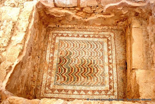 [NU900-2012-003] Kourion (Curium) : Maison d'Eustolios - Baignoire