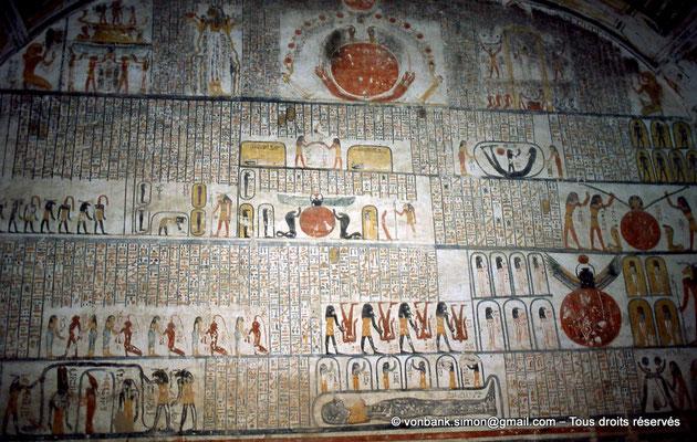 [066-1981-28] KV 9 Ramsès VI : Livre de la Terre (Paroi Nord, chambre funéraire)