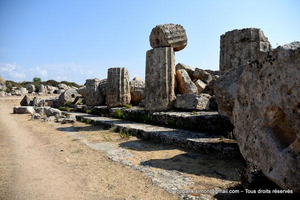 [NU906-2019-1437] Sélinonte - Temple F : Ruines
