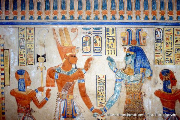[064-1981-14] QV 55 Amonherkhépshef : Amonherkhépshef - Ramsès III - Ptah-Taténen - Amonherkhépshef