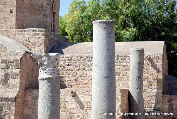 [NU900-2012-096] Paphos (Nea Paphos) : Ruines de la Basilique paléochrétienne Panayia Chrysopolitissa