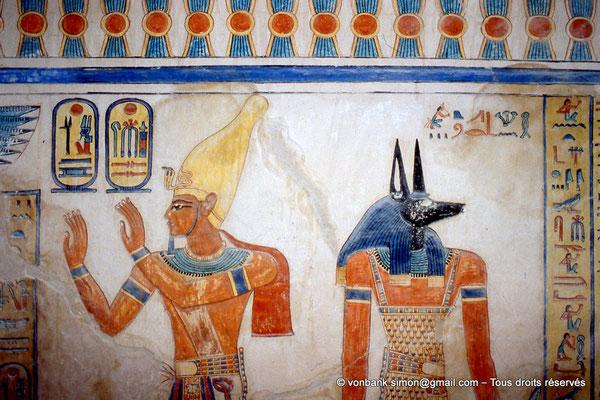 [064-1981-28] QV 55 Amonherkhépshef : Ramses III - Douamoutef