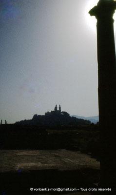 [072-1978-13] Annaba (Hippo Regius) : Basilique Saint-Augustin vue depuis le quartier des villae du front de mer