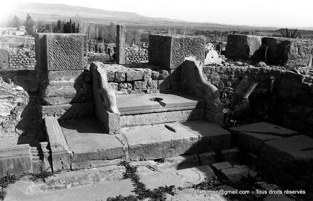 [NB047-1978-12] Timgad (Thamugadi) : Latrines publiques