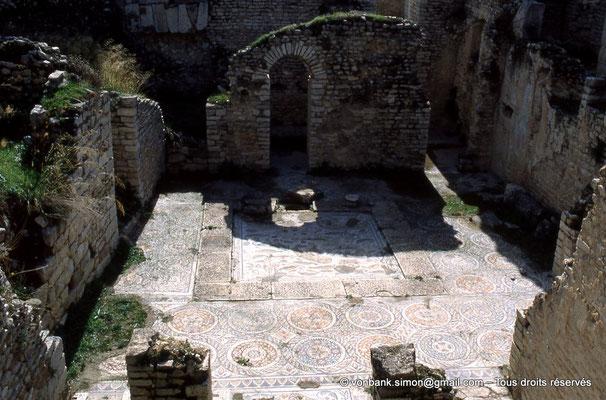 [034-1983-36] Dougga (Thugga) : Thermes d'Aïn Doura et ses mosaïques
