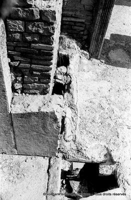 [NB056-1978-58] Timgad (Thamugadi) : Les grands thermes du Sud - Gaines de circulation de l'air chaud