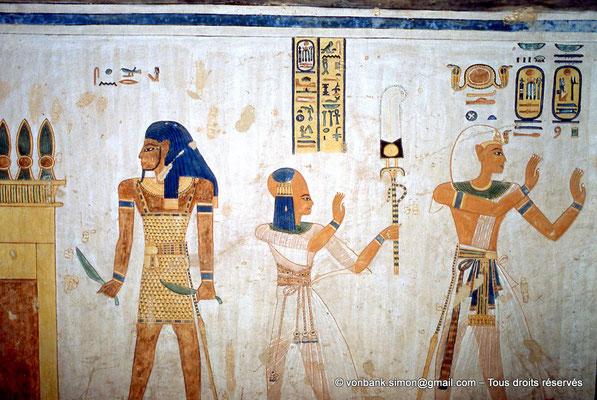 [066-1981-06] QV 44 Khaemouaset : ? - Khaemouaset - Ramsès III