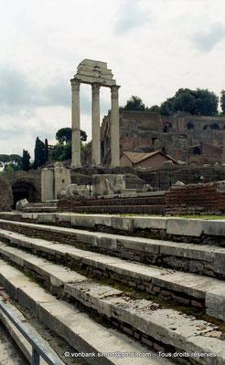 [C010-2001-24] Rome - Forum Romanum : Temple des Dioscures (Castor et Pollux)