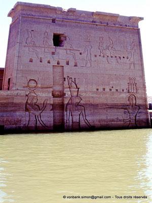 [080-1973-01] Philae : Temple d'Isis - Pylône 2
