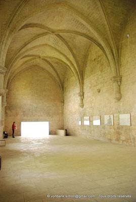 [NU003-2017-074] 13 - La Roque d'Anthéron - Abbaye de Silvacane : Le réfectoire (XV° siècle)