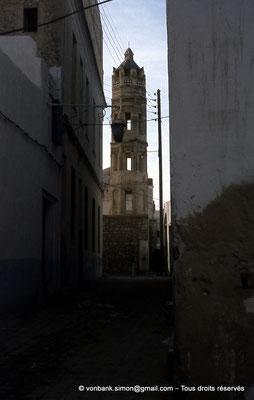[011-197 -09] Sousse (Hadrumetum) : Minaret de la médersa El Zaqqaq