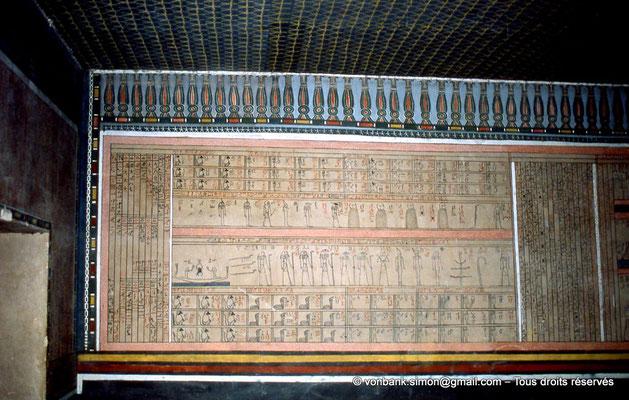 [066-1981-34] KV 35 Amenhotep II : 1° Heure de l'Amdouat