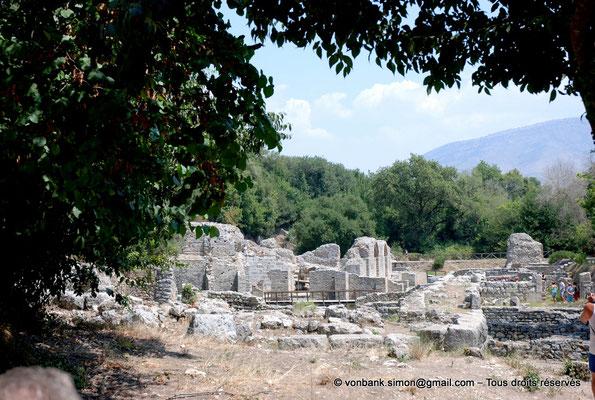 [NU902-2010-079] Butrint (Buthrotum) : Vue partielle de l'Agora