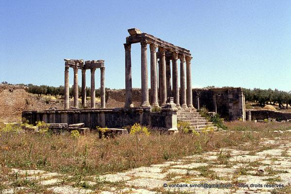 [009-1985-23] Dougga (Thugga) : Temple de Junon Cælestis