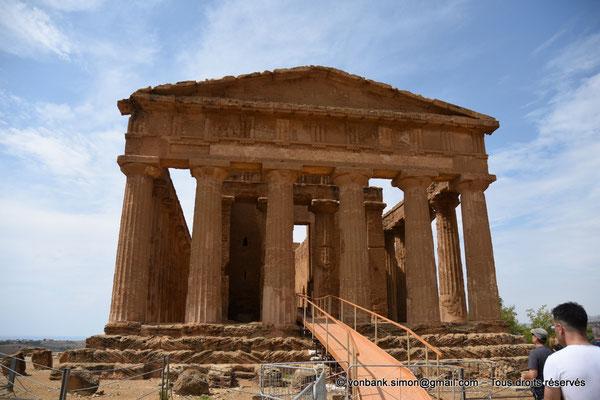 [NU906-2019-1557] Agrigente - Temple de la Concorde : Face Est