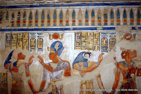 [064-1981-19] QV 55 Amonherkhépshef : Hâpi - Ramsès III - Kébehsénouf - Ramsès III