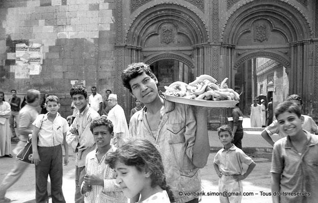 [NB072-1973-60] Le Caire - Mosquée Al-Azhar : Porte des barbiers (XVIII° siècle)