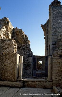 [034-1983-19] Makthar (Mactaris) : Grands thermes du Sud-Est