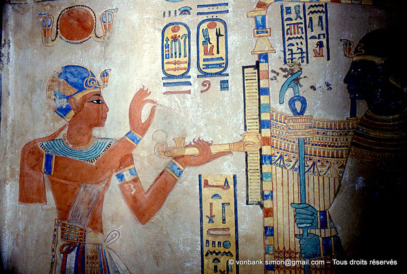 [080-1981-44] QV 55 Amonherkhépshef : Ramsès III - Ptah