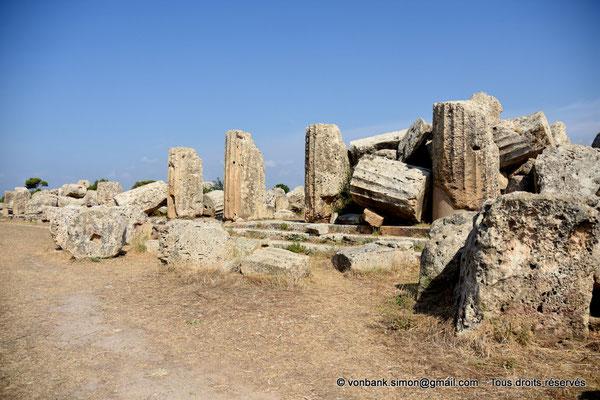 [NU906-2019-1433] Sélinonte - Temple F : Ruines