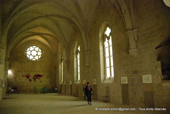 [NU003-2017-077] 13 - La Roque d'Anthéron - Abbaye de Silvacane : Le réfectoire (XV° siècle)