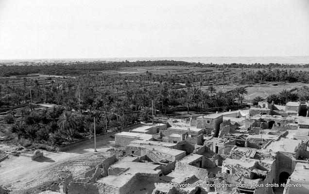 [NB088-1978-22] Temacine-Tamelhat - Village vu depuis le minaret de la mosquée de Si El Hadj Temacine