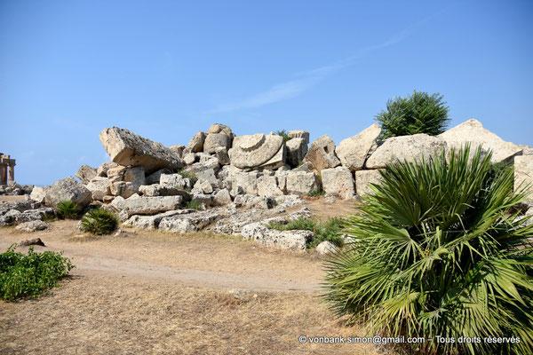 [NU906-2019-1447] Sélinonte - Temple G : Ruines