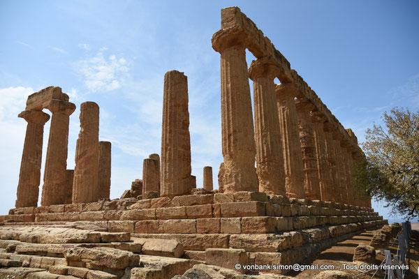 [NU906-2019-1541] Agrigente - Temple d'Héra (Junon) : Faces Nord et Est