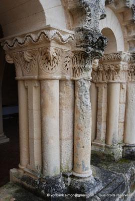 [NU904-2015-0017] 17 - Trizay - Prieuré Saint-Jean l'Évangéliste : Arcs polylobés (XIII°)) (détail)