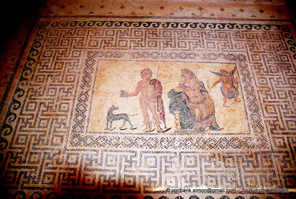 [NU900-2012-058] Paphos (Nea Paphos) : Villa de Dionysos - Phèdre et Hippolyte [6]