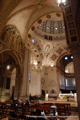 [NU908-2015-0863] Milan - Santa Maria delle Grazie : Tribune de Bramante (vue partielle)