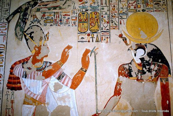 [066-1981-21] KV 6 Ramsès IX : Ramses IX - Ra-Horakhty