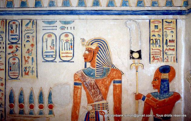 [064-1981-29] QV 55 Amonherkhépshef : Ramses III - Amonherkhépshef