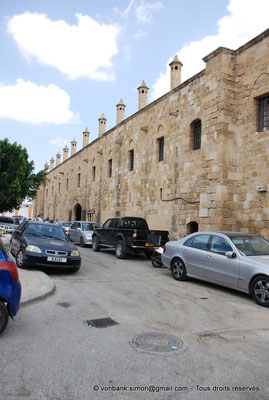 [NU905-2014-0277] Nicosie - Agia Sophia : Mur extérieur du Büyük Han