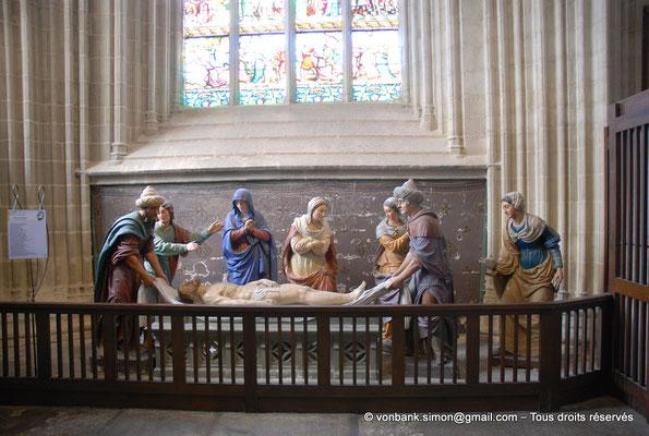 [NU002k-2016-0016] 29 - Quimper - Cathédrale Saint-Corentin : Chapelle de la Passion - Mise au tombeau (Froc-Robert 1868) [34]