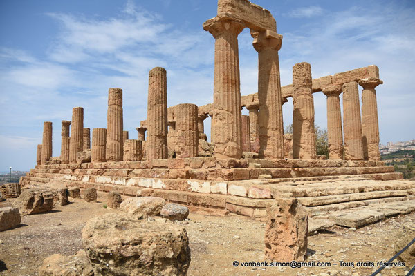 [NU906-2019-1544] Agrigente - Temple d'Héra (Junon) : Faces Sud et Est