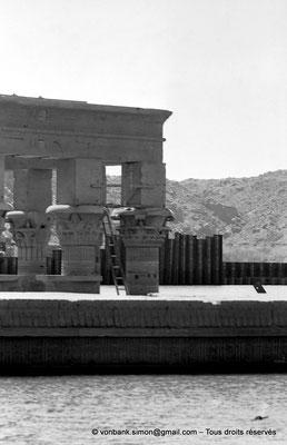 [NB076-1973-07] Philae : Kiosque de Trajan