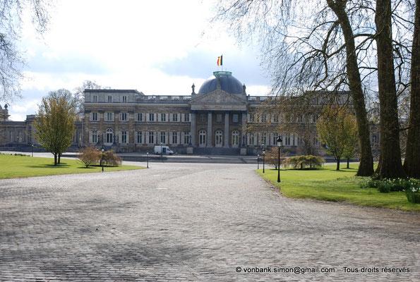 [NU900c-2012-0037] B - Bruxelles - Laeken : Palais Royal (XVIII°)
