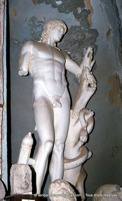 [018-1978-29] Guelma (Calama) : Musée - Apollon (copie de la statue de Cherchell)
