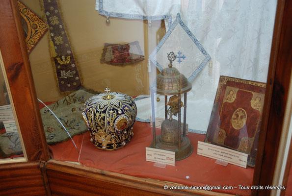 [NU900x-2013-0129] Crète - Chrysoskalítissa : Petit musée (détail)