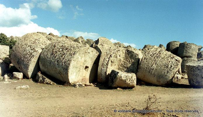 [C003-2005-02a] Sélinonte - Temple G : Ruines