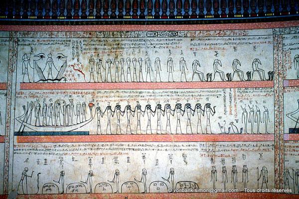 [063-1981-01] KV 34 Thoutmôsis : 11° Heure de l'Amdouat (chambre funéraire)