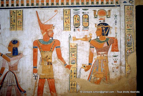 [066-1981-03] QV 44 Khaemouaset : Khaemouaset - Atoum - Ramsès III