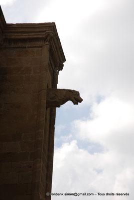 [NU905-2014-0315] Nicosie - Agia Sophia : Gargouille de la façade Nord de l'ancienne église Saint-Nicolas