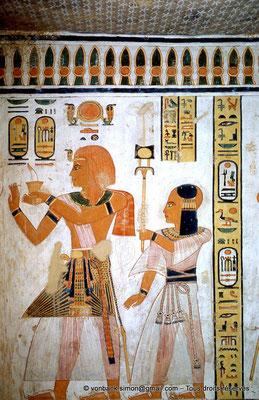 [064-1981-01] QV 44 Khaemouaset : Ramsès III - Khaemouaset
