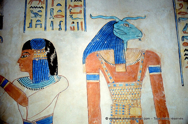 [080-1981-46] QV 55 Amonherkhépshef : Amonherkhépshef - Khnoum