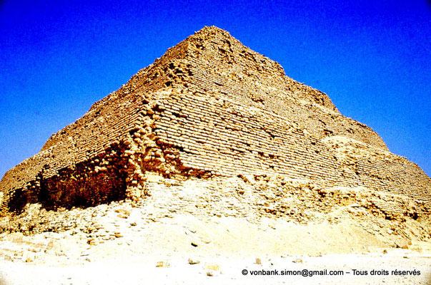 [083-1973-17] Saqqara - Djoser : Pyramide à degrés du roi